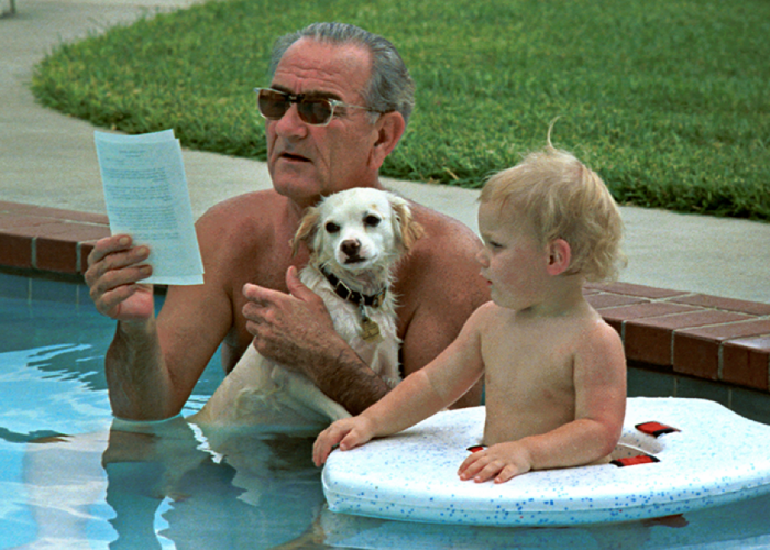 The Presidential History Of Swimming