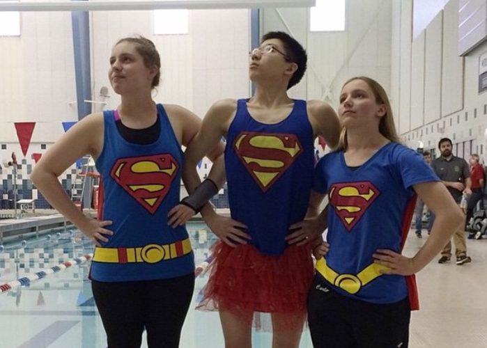 Zones Swimmers Superhero