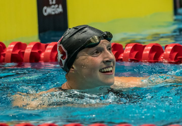 Katie Ledecky Wins USOC Best of May Team USA Award