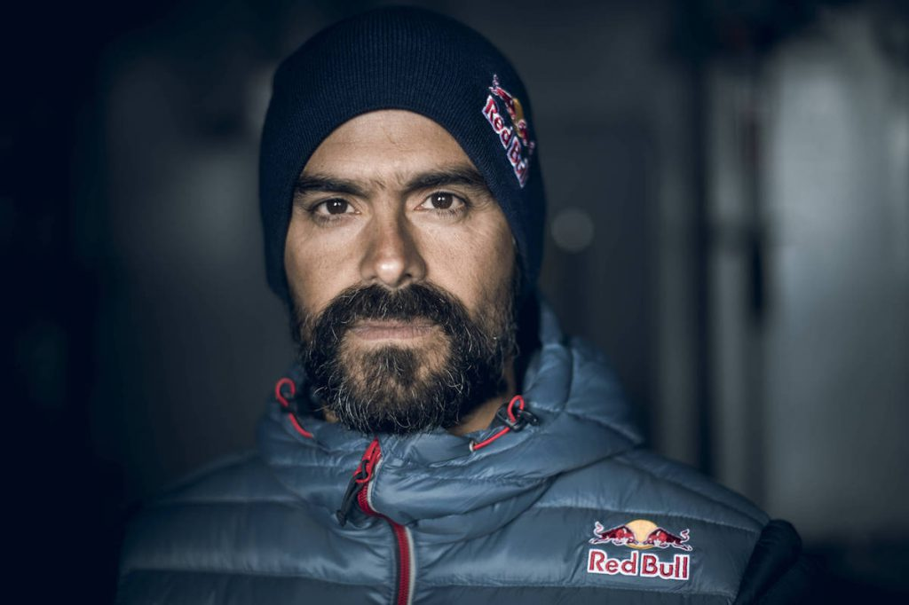 Orlando Duque poses for a portrait during a trip to Antarctic on January 14, 2018 // Andreas Vigl / Red Bull Content Pool // AP-1VPMQMN7D2111 // Usage for editorial use only // Please go to www.redbullcontentpool.com for further information. //