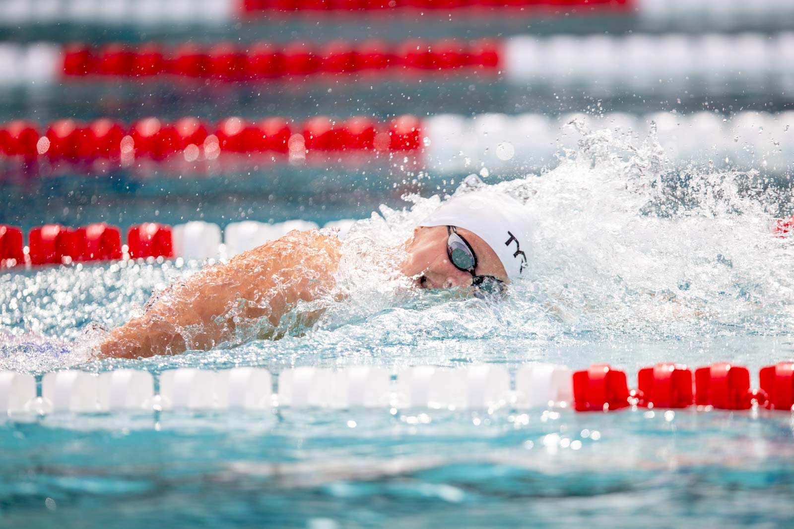 Katie Ledecky Cruises to Knoxville Pro Swim Series 1500 Win - Swimming World News