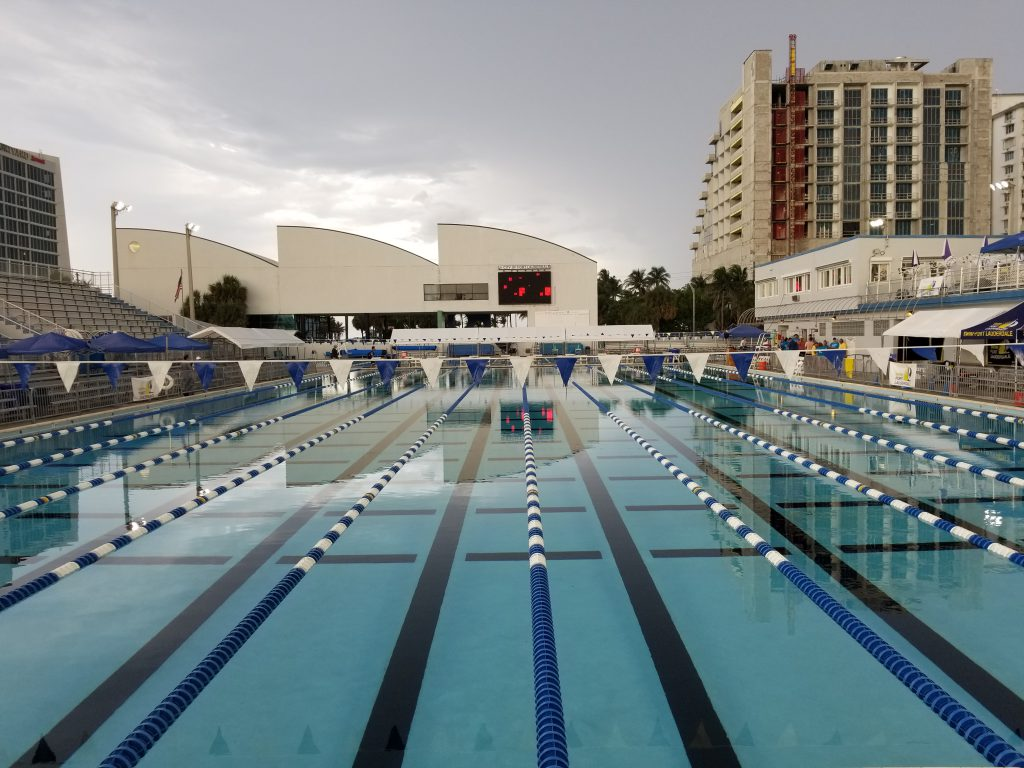 Ft Lauderdale 39 International Swimming Hall Of Fame 39 Aquatic Complex Gets 27 Million Renovation
