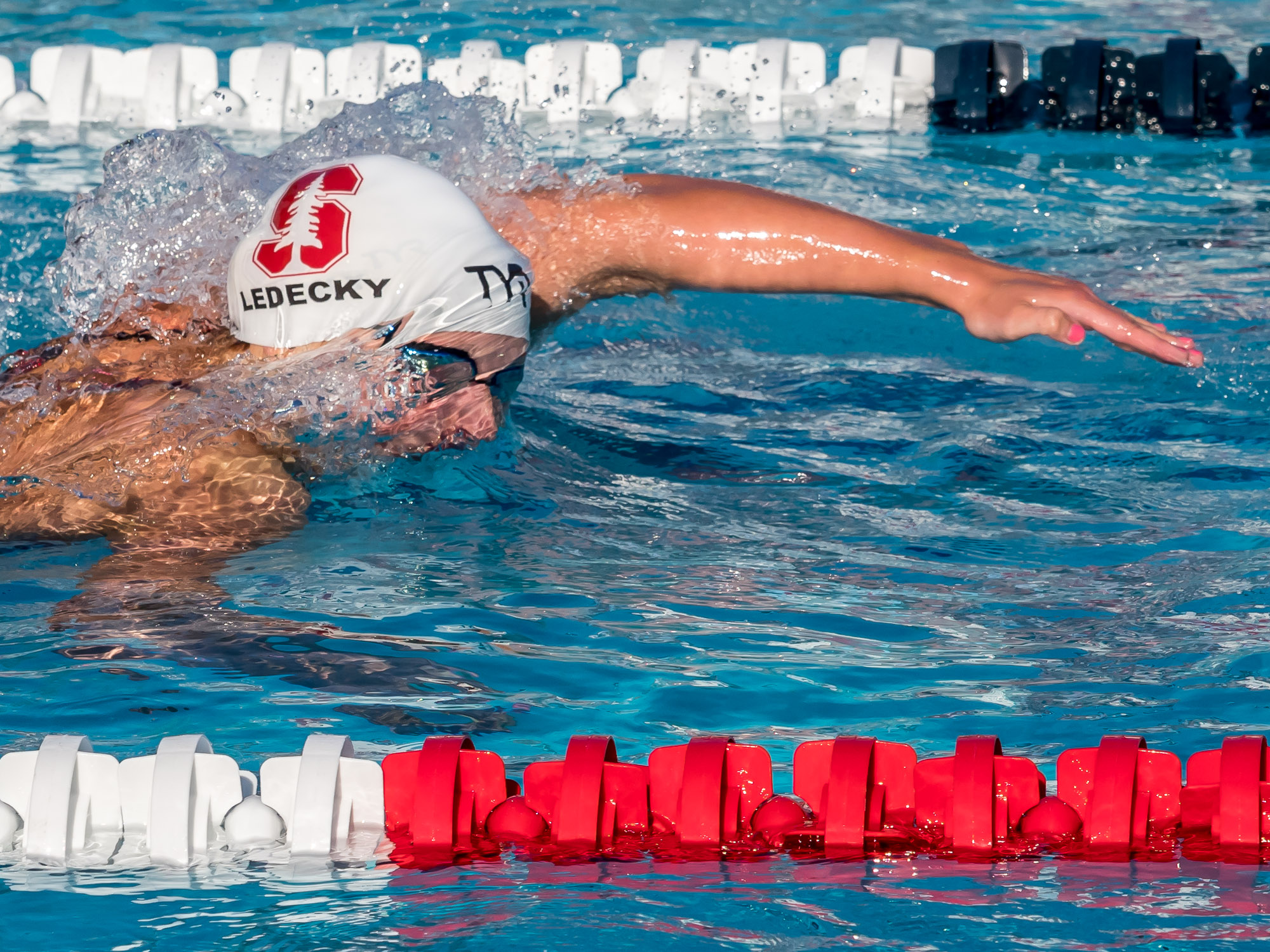 Katie Ledecky Named to ESPN's 20 Most Dominant Athletes of 2018 - Swimming World News