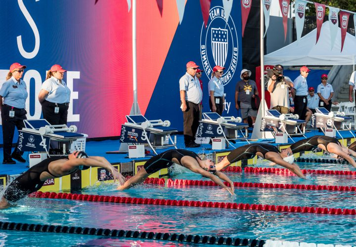 Day Four Finals Heat Sheets
