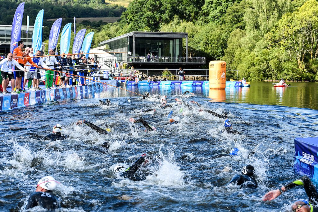 10km Women Glasgow 09/08/2018 Open Water Swimming Loch Lomond and The Trossachs National Park LEN European Aquatics Championships 2018 European Championships 2018 Photo Andrea Staccioli /Deepbluemedia /Insidefoto