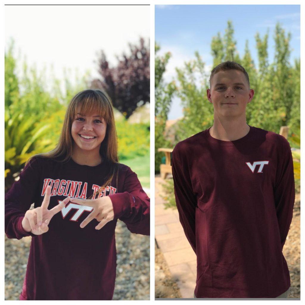 rose-and-aj-pouch-virginia-tech