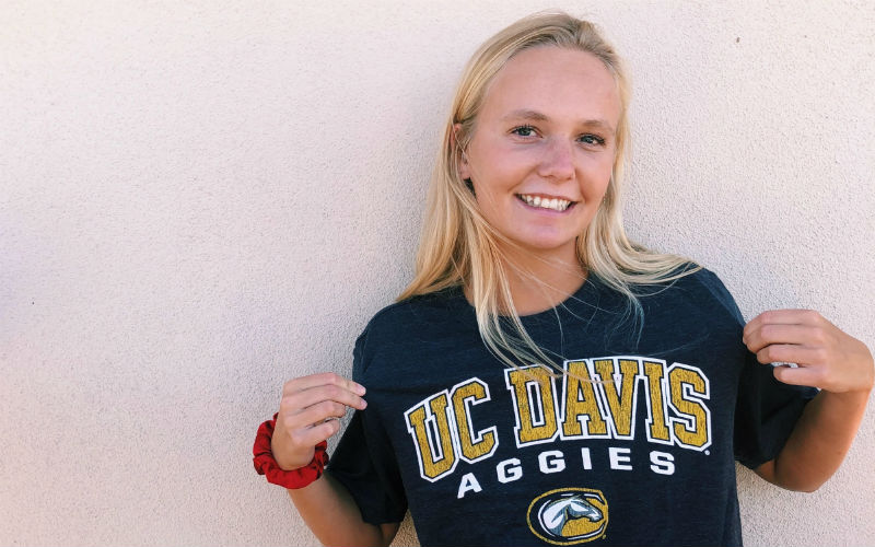 Eloise Engs Will Stay In-State and Swim for the UC-Davis Aggies - Swimming World News