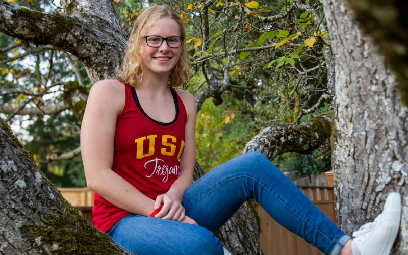100 Breast Junior National Champ Kaitlyn Dobler Verbally Commits to USC Class of 2024 - Swimming World News