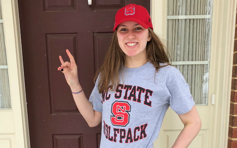 NC State Wolfpack Adds Verbal From Talented Sprinter Katie Mack - Swimming World News