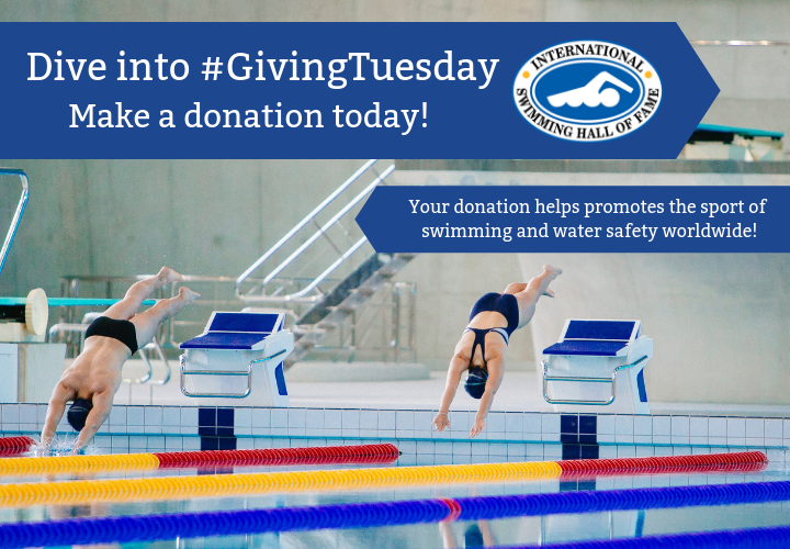 Dive Into Givingtuesday With A Donation To The International Swimming Hall Of Fame Swimming
