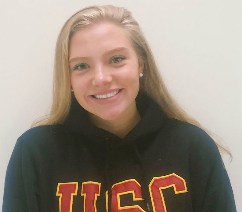 Hawaii State Breaststroke Champ Maile Lawson Sends Verbal to USC - Swimming World News