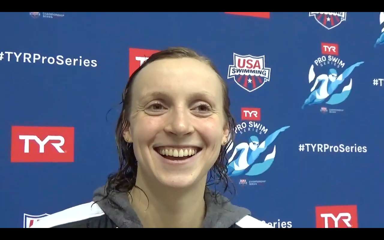 (VIDEO INTERVIEW) Katie Ledecky Volunteered to Play in the Stanford Band Last Semester - Swimming World News