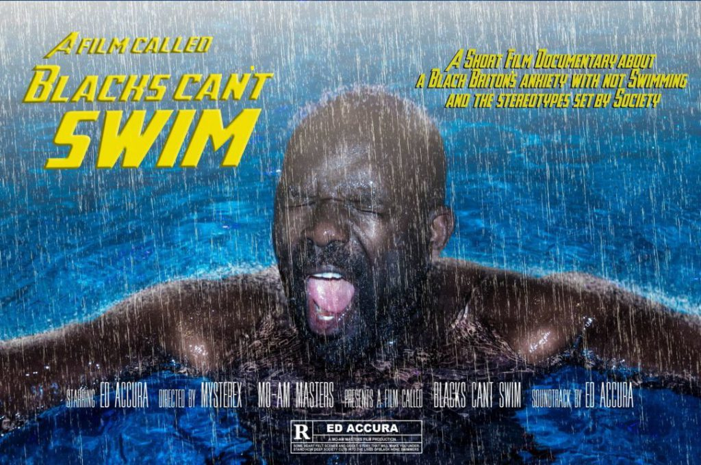 Blacks Can't swim