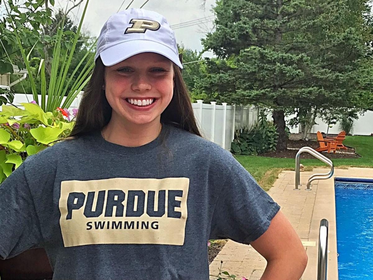 Freestyler Elissa Haake of Hinsdale Swim Club Chooses Purdue University - Swimming World News