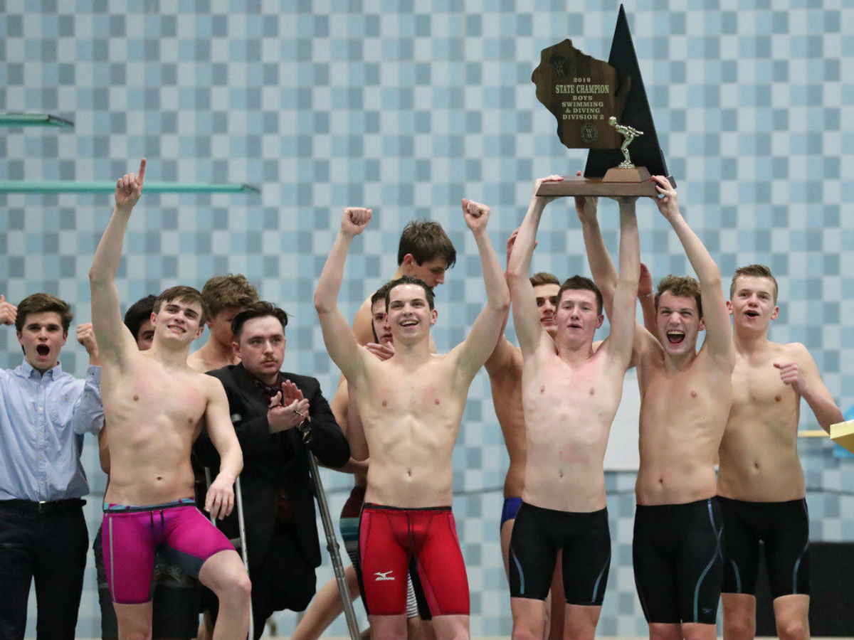 Edgewood Ends Monona Grove's Four-Year Reign at Wisconsin Boys DII State Championships - Swimming World News