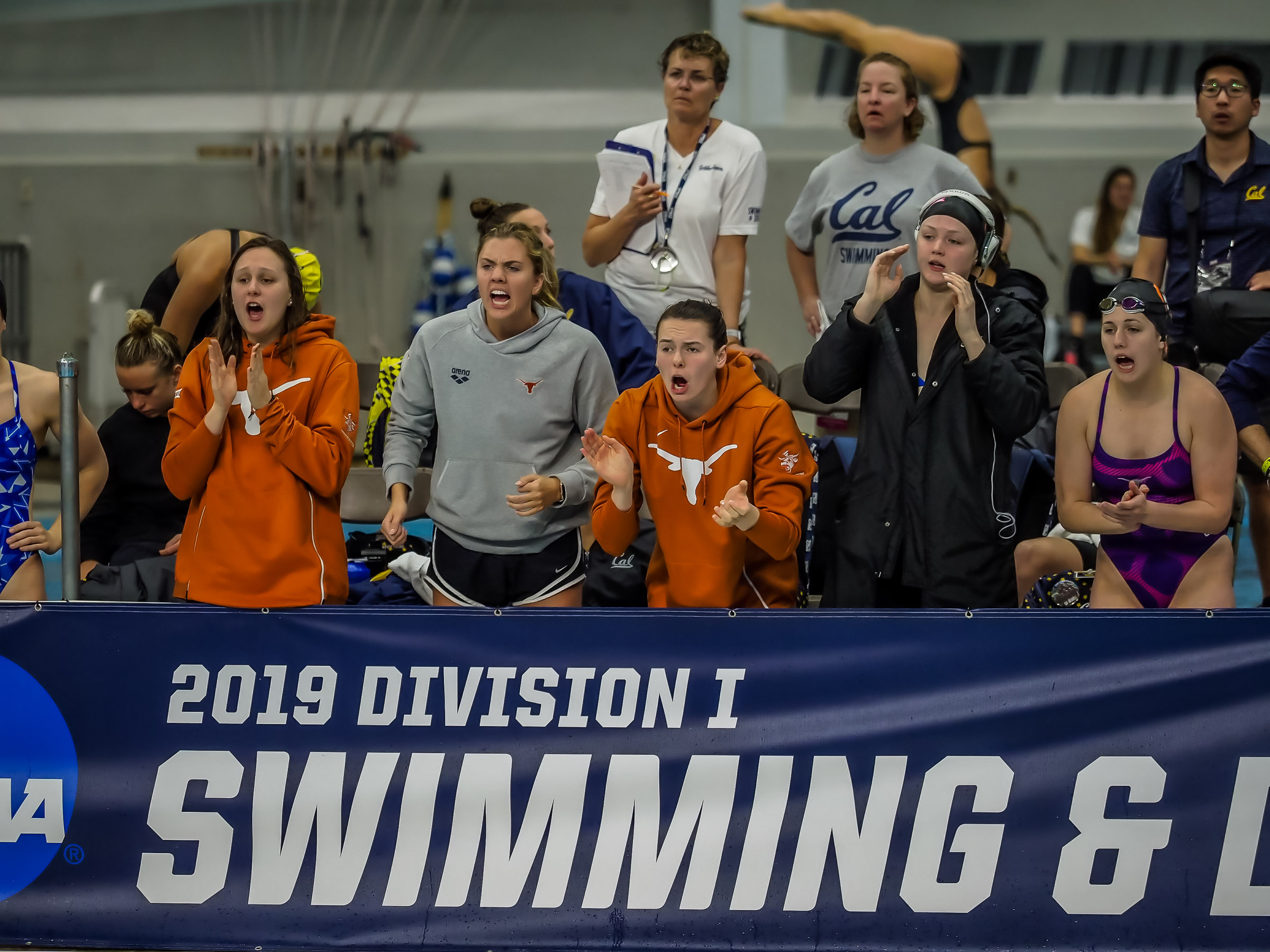 2019 NCAA Division I Women's Swimming Championships: Thursday Morning Photo Gallery - Swimming World News